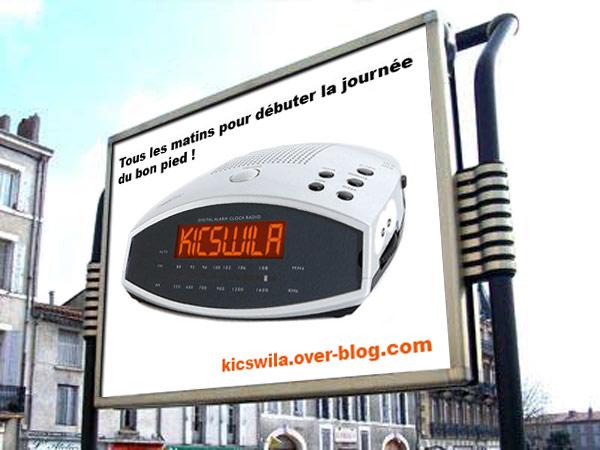 Radio réveil kiCswiLA?