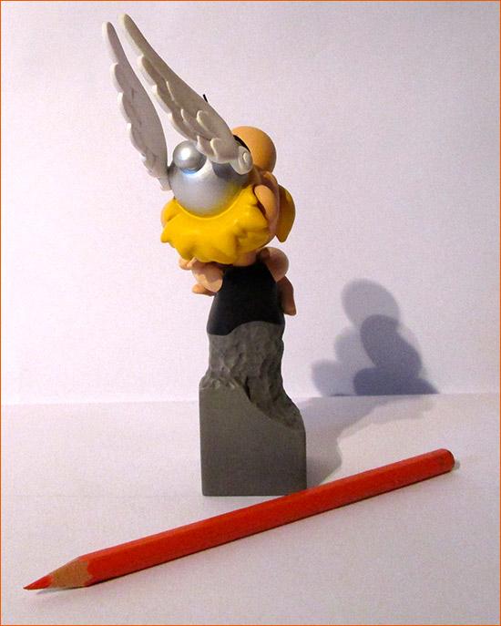 Buste Obélix de face (Attakus) - Dos.