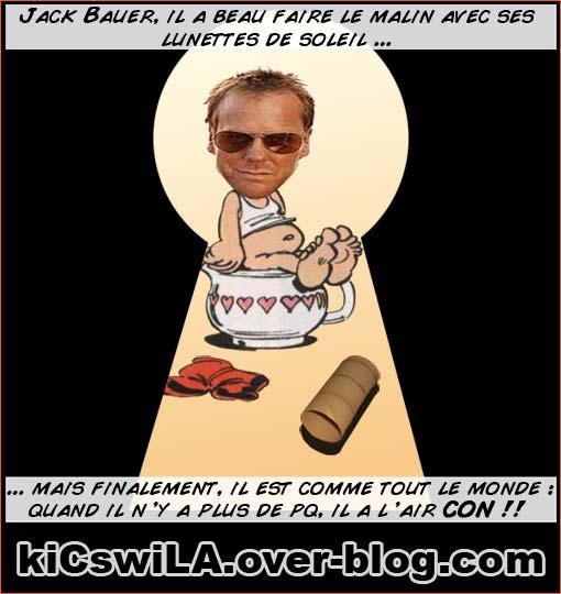 Jack Bauer sur le Trône.