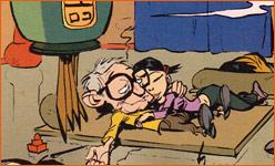 Caricature de Woody Allen (Simon Léturgie).