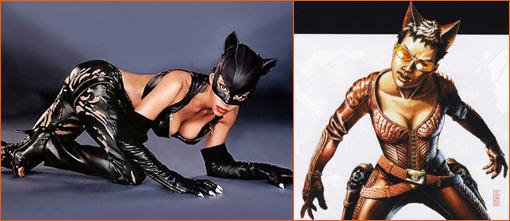 Catwoman = Fox.