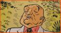 Caricature de Bernard Blier (Mathieu Reynès).