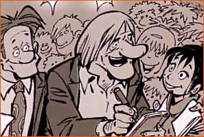 Caricature de Gérard Depardieu (Bédu).