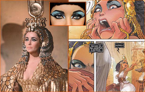 Cléopâtre selon Alessandro Barbucci.
