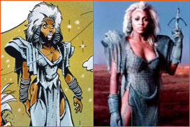 Caricature de Tina Turner (Didier Crisse).