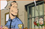 Caricature de Bruce Willis (Simon Léturgie).