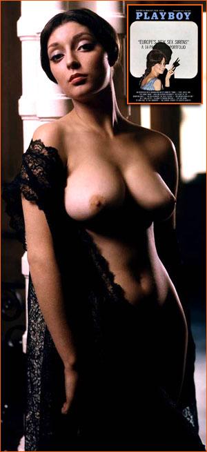 Victoria Valentio pour Playboy (Mario A. Casilli).
