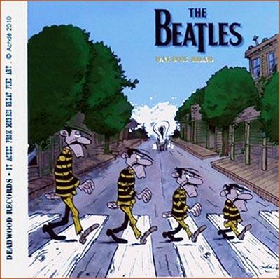 Abbey Road selon Achdé.