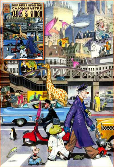 Abbey Road selon Daniel Acuna.