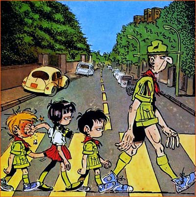 Abbey Road selon Marcel Gotlib.