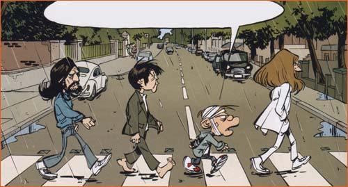 Abbey Road selon Simon Léturgie.