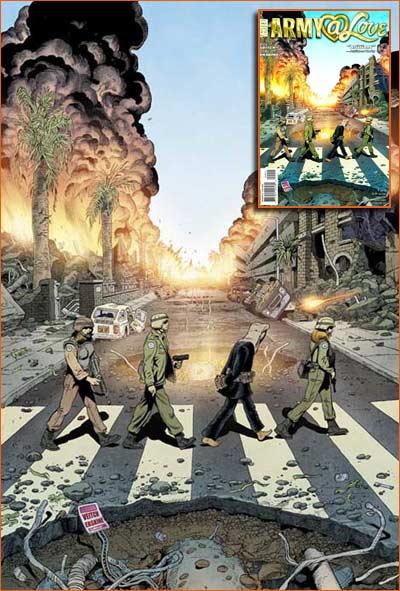 Abbey Road selon Rick Veitch.