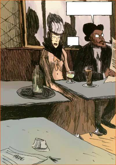 L'absinthe selon Christophe Gautier.