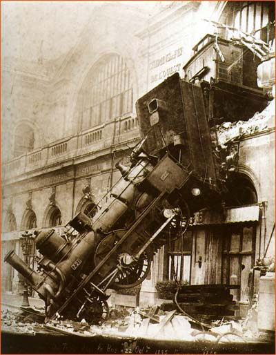 Accident gare de l'Ouest (Studio Levy and sons).