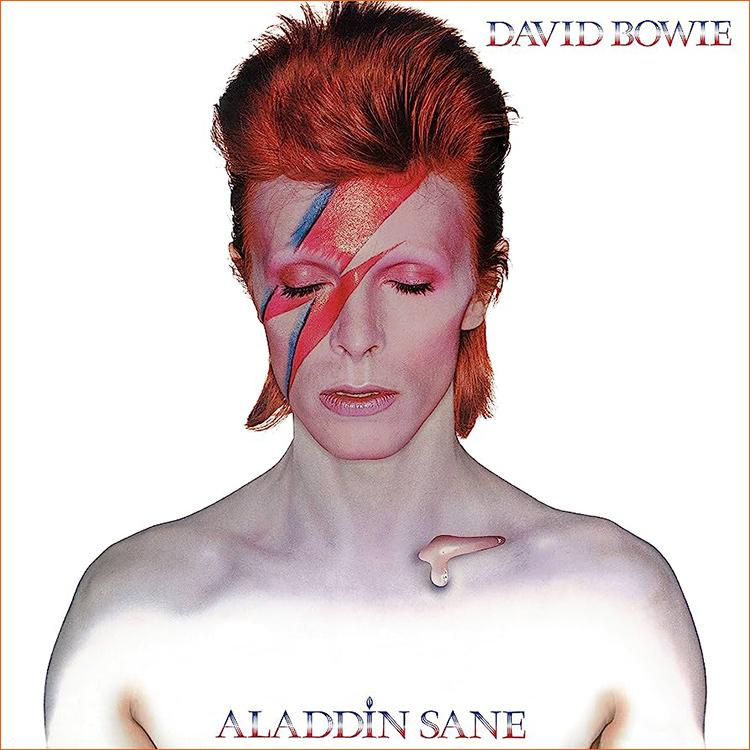 Aladdin Sane de David Bowie.