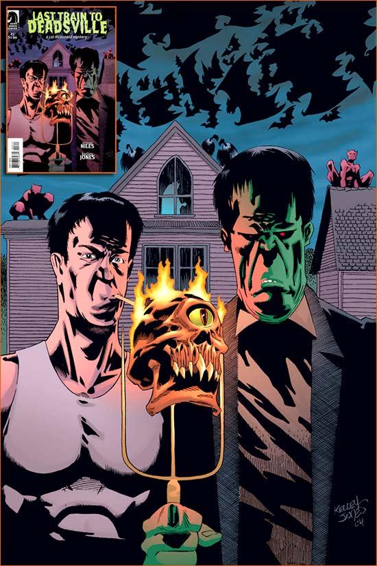 American Gothic selon Kelley Jones.