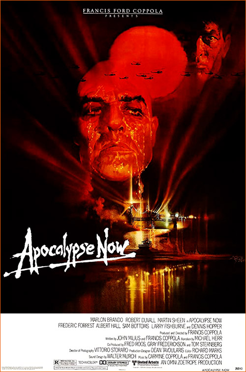 Apocalypse Now de Francis Ford Coppola.