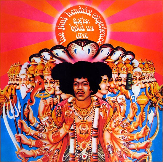 Axis: Bold as love de Jimi Hendrix.