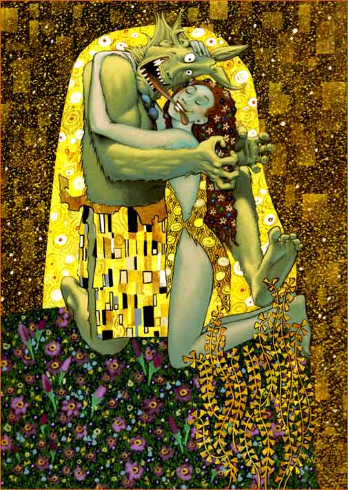 Le baiser selon Jean-Louis Mourier.