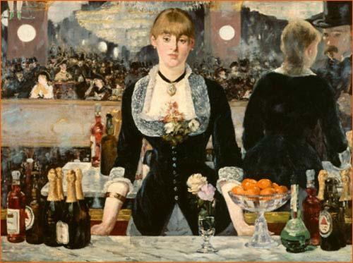 Un bar aux Folies-Bergères d'Edouard Manet.