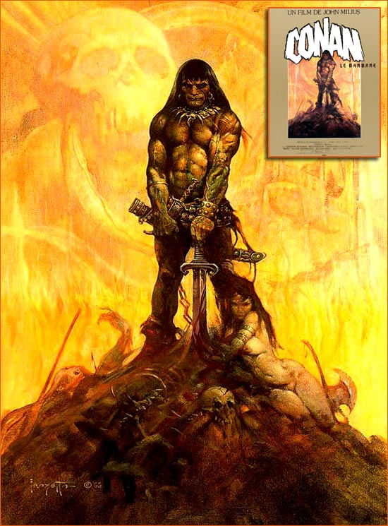 The Barbarian de Frank Frazetta.