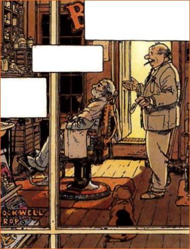 Shuffleton's Barbershop selon Michel Plessix.