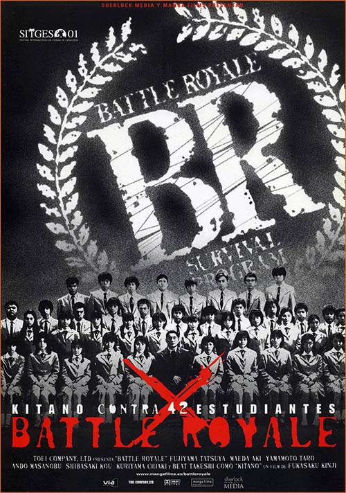 Battle Royale de Kinji Fukasaku.