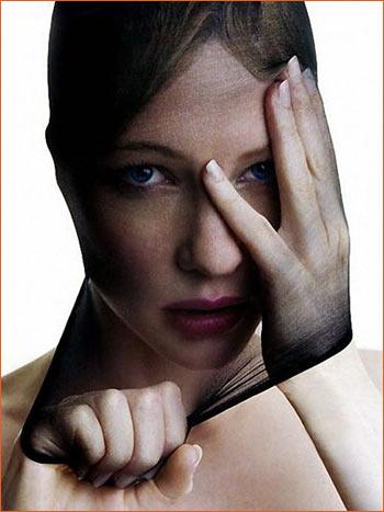 Photographie de Cate Blanchet par Patrick Demarchelier.