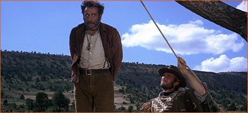 Le bon, la brute et le truand de Sergio Leone (1966).
