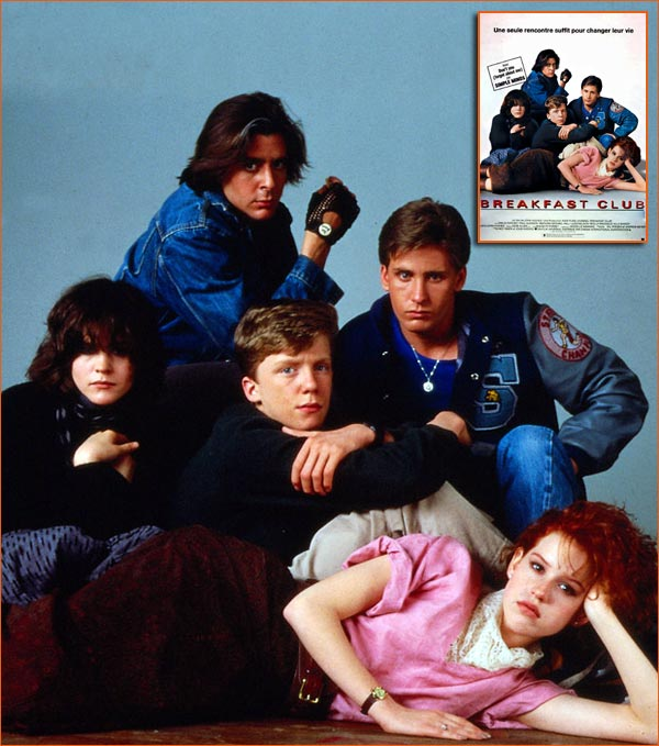 Breakfast Club de John Hughes.