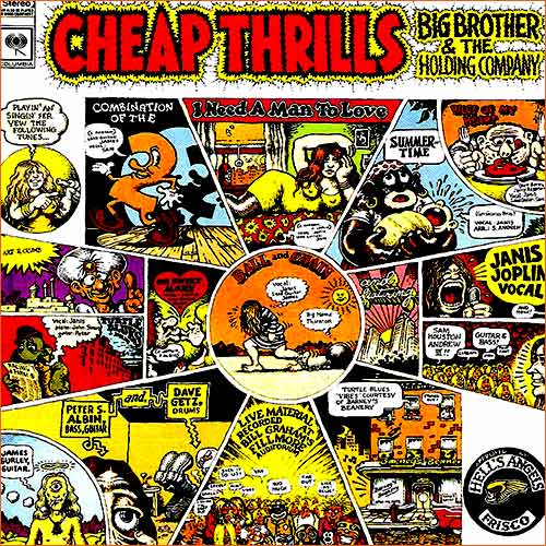 Cheap Thrills des Big brother and the Holding company.