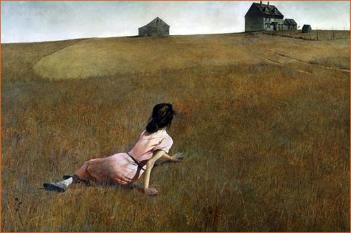 Christina's World d'Andrew Wyeth.