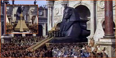 Le char de Cléopâtre.