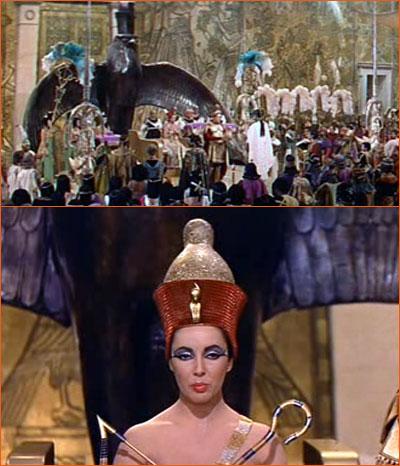 Le trône de Cléopâtre.