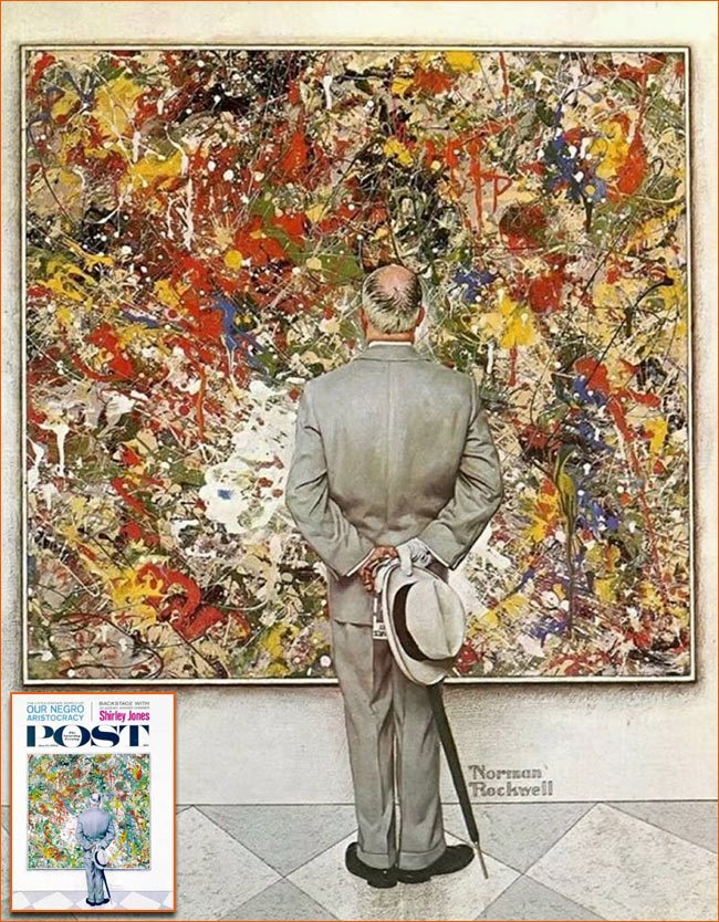The Connoisseur de Norman Rockwell.