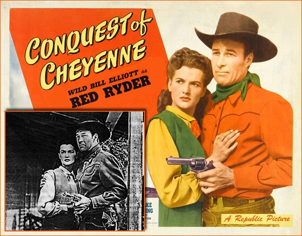 Conquest of Cheyenne de R.G. Springsteen.
