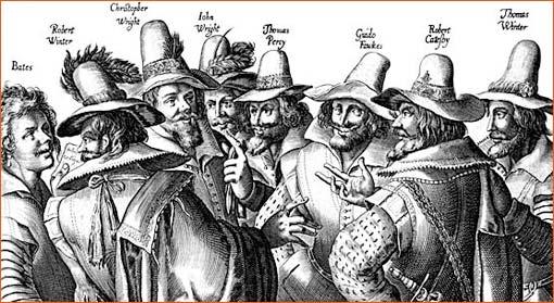 Les artisans de la conspiration des poudres de Crispin Van de Passe.