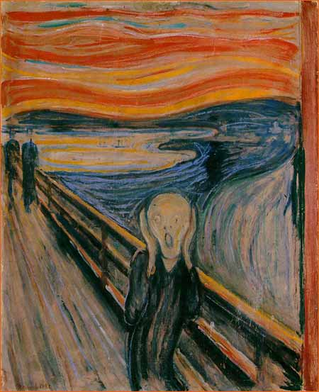 Le Cri d'Edward Munch.