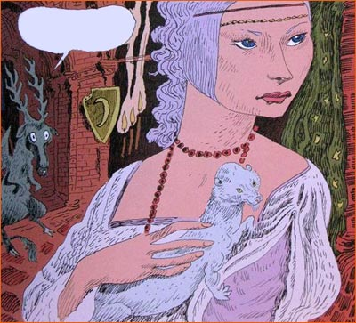 La dame à l'hermine selon Joann Sfar.