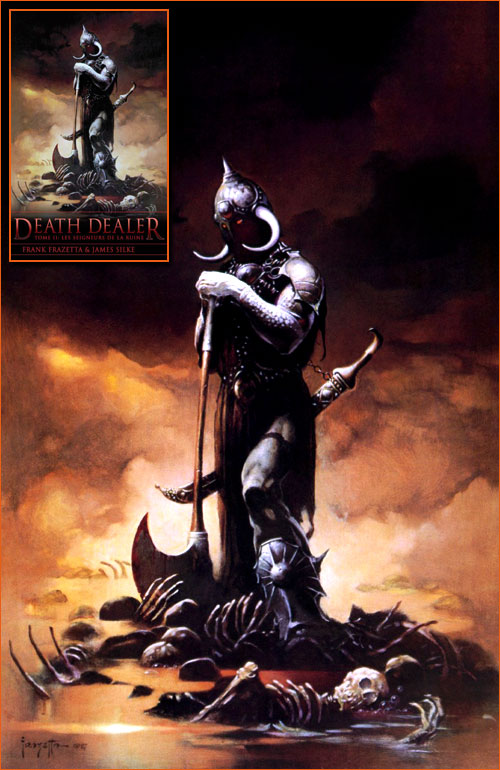 Death Dealer III de Frank Frazetta.