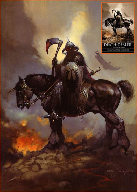 Death Dealer de Frank Frazetta.