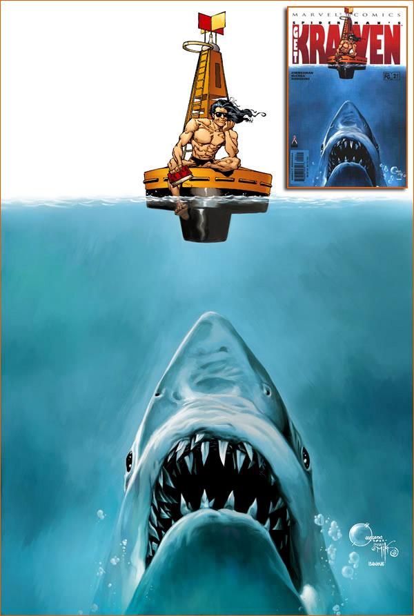 Les dents de la mer selon de Joe Quesada