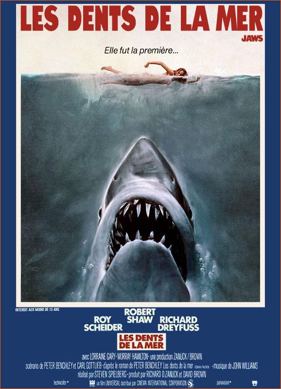 Les dents de la mer de Steven Spielberg.