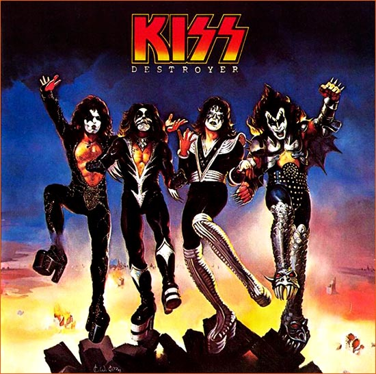 Destroyer de Kiss.