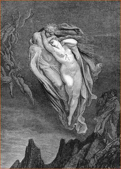 La divine comédie par Gustave Doré.