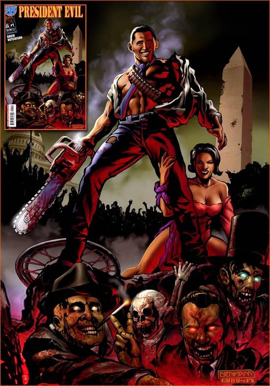 Evil Dead III: L'armée des ténèbres selon Brian Denham.