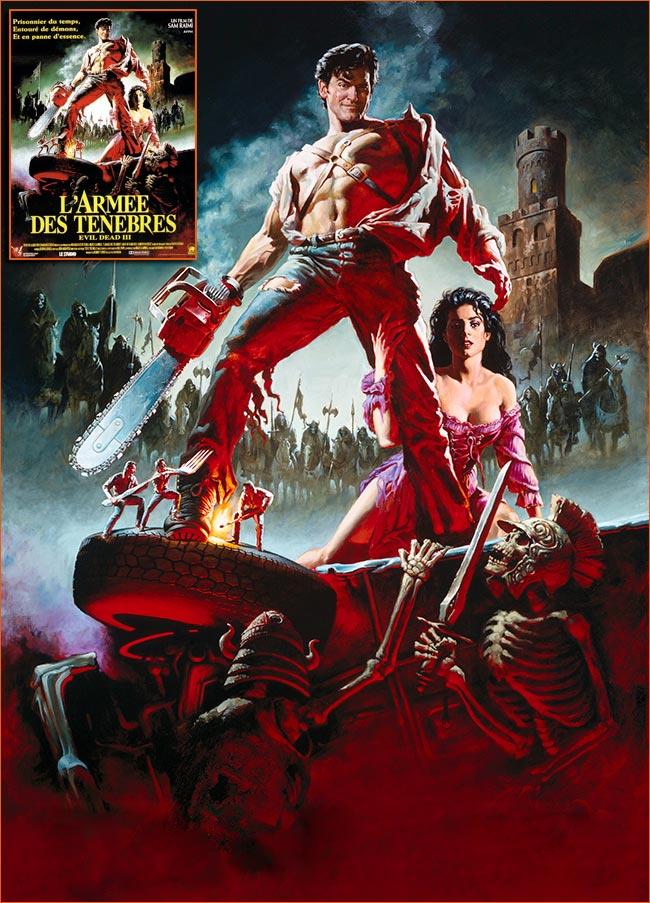Evil Dead III: L'armée des ténèbres de sam Raimi.