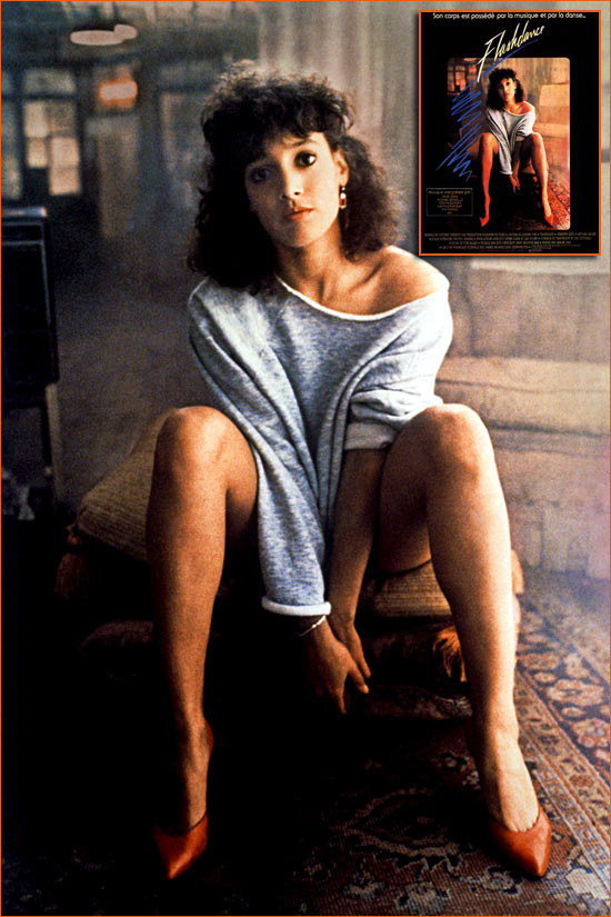 Flashdance d'Adrian Lyne.
