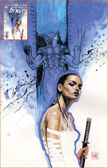 The New Avengers #39 de Mack et Bendis.