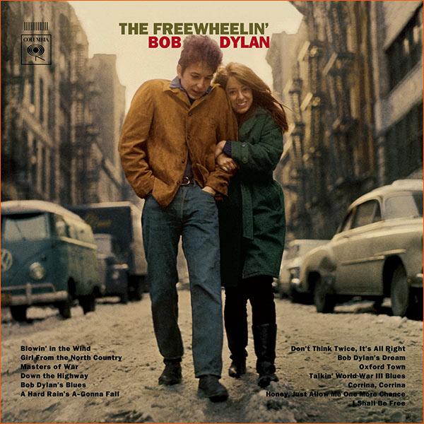 The freewheelin' Bob Dylan de Bob Dylan.